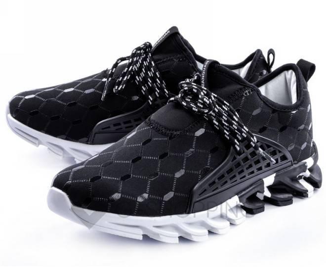 Стильные мужские кроссовки черные 45 размер YDX07-01-45 KINGTH GOLDN, фото 2