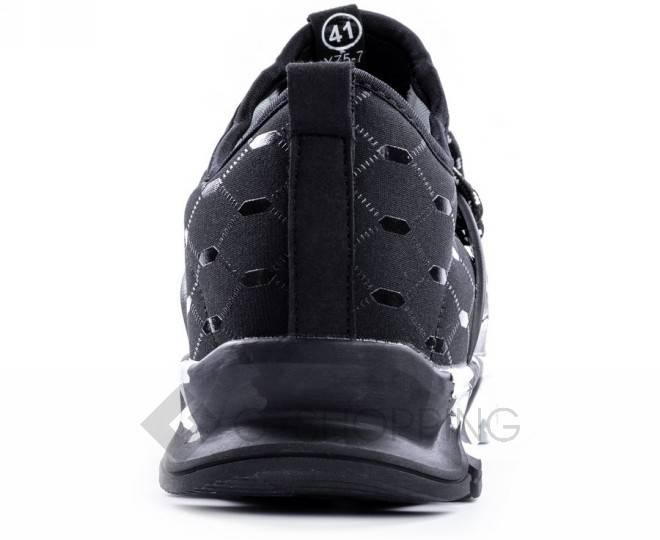 Стильные мужские кроссовки черные 45 размер YDX07-01-45 KINGTH GOLDN, фото 4