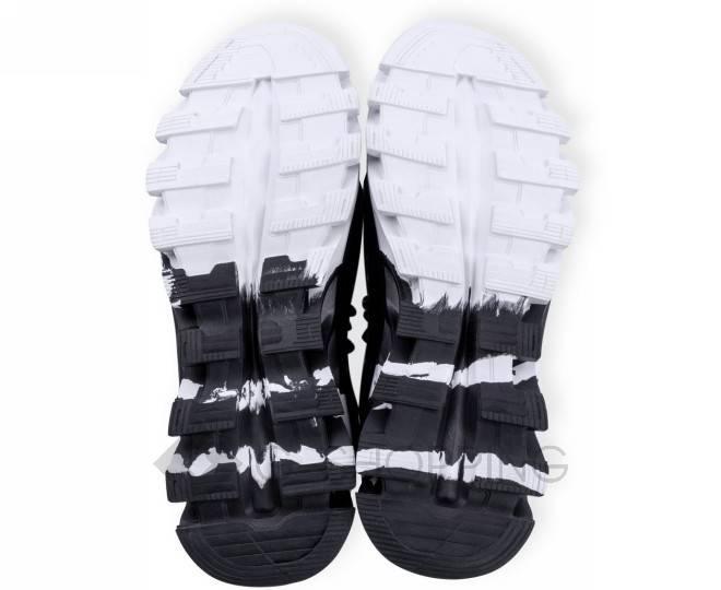 Стильные мужские кроссовки черные 45 размер YDX07-01-45 KINGTH GOLDN, фото 6