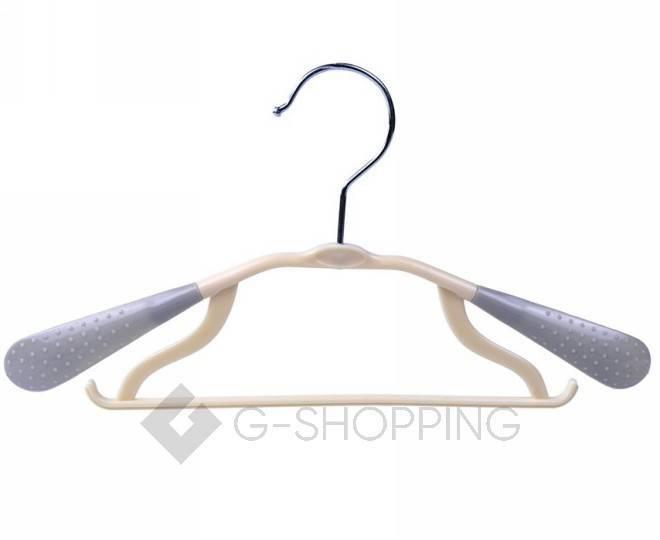 Набор антискользящих детских вешалок для одежды 5штук серый YJ28-23 Удачная покупка, фото 1