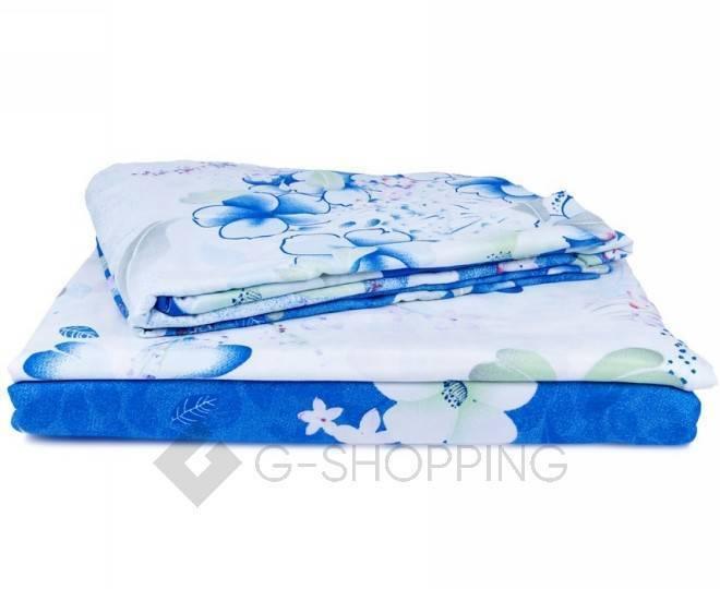 Постельное белье SJT0003 синее, фото 7