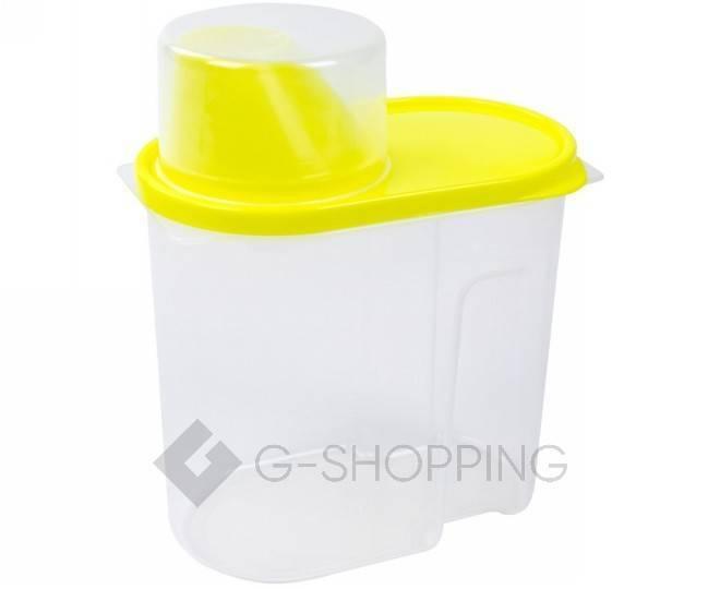 Банка для продуктов маленькая RYP-13 желтая 1,9 л  USLANBFAY, фото 1