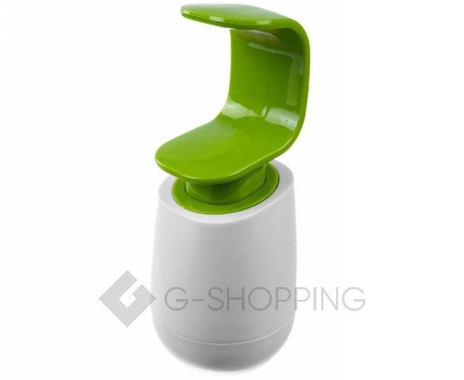 Дозатор для жидкого мыла RYP-01 белый USLANBFAY, фото 1