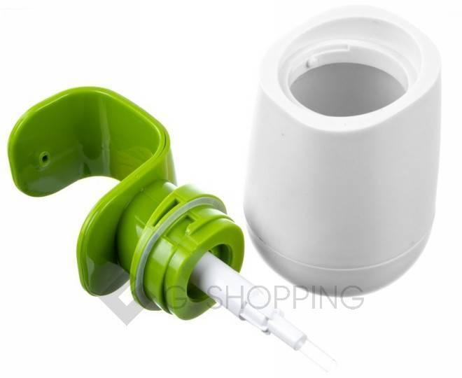 Дозатор для жидкого мыла RYP-01 белый USLANBFAY, фото 2