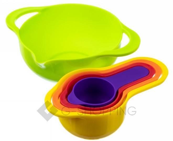 Набор мисок разноцветных RYP-04 USLANBFAY 8 штук, фото 3