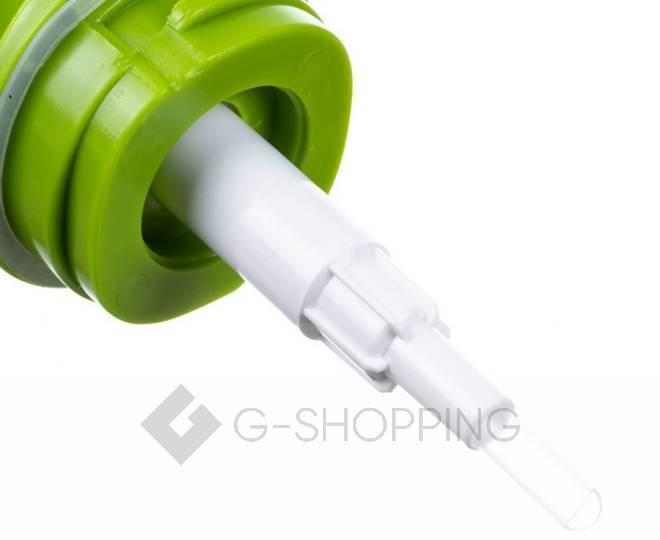 Дозатор для жидкого мыла RYP-01 белый USLANBFAY, фото 4