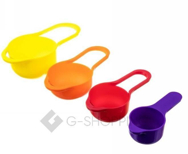 Набор мисок разноцветных RYP-04 USLANBFAY 8 штук, фото 4