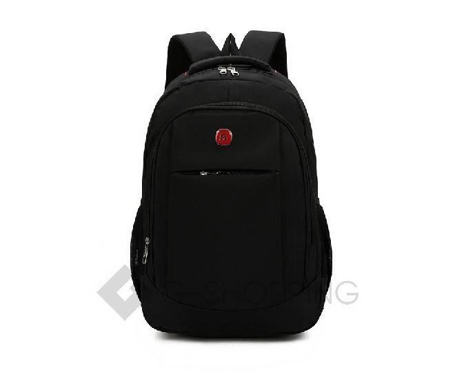 Рюкзак текстильный черный C128-01 Kingth Goldn, фото 3