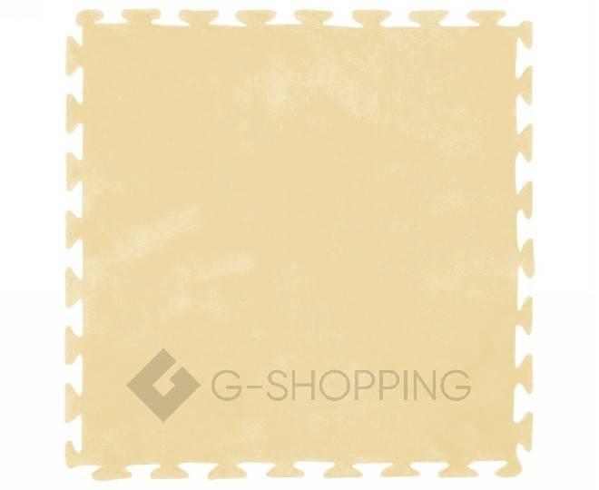 Мягкий коврик пазл желтый MEITOKU 9 шт, фото 1