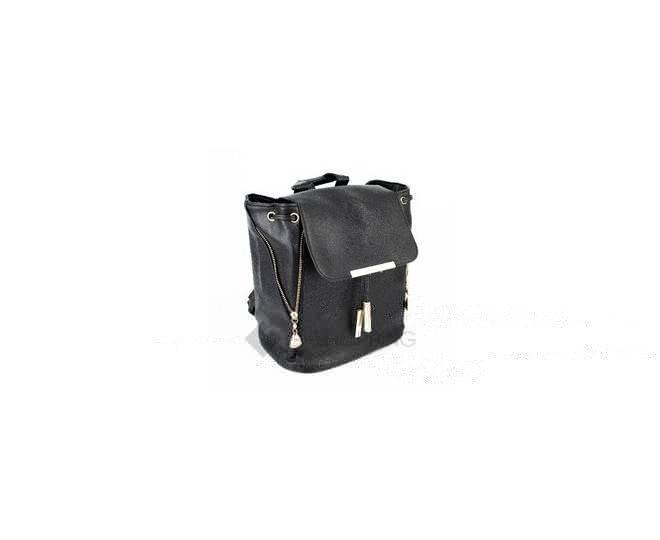 Женский рюкзак из экокожи черный C107-01 Kingth Goldn, фото 4