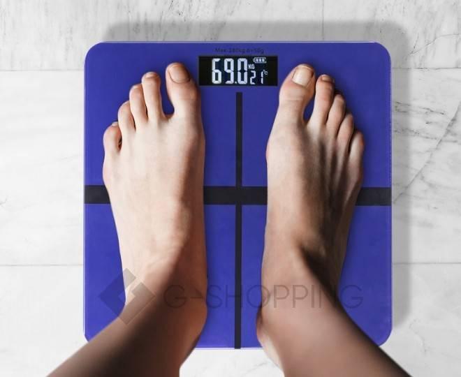 Электронные напольные весы GB-BS002, фото 5