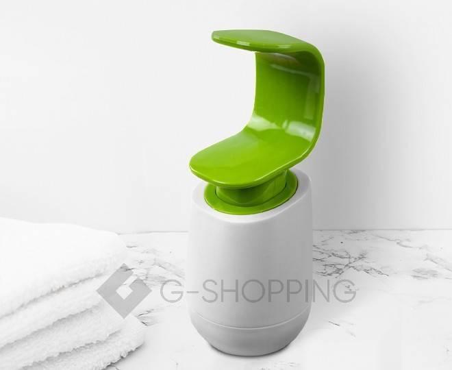 Дозатор для жидкого мыла RYP-01 белый USLANBFAY, фото 5