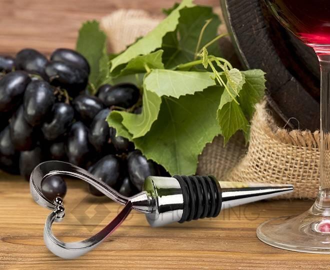 Металлическая пробка в форме сердца для бутылок от шампанского или вина RYP222-31 USLANBFAY, фото 5