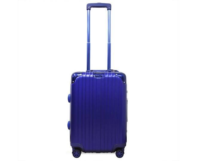 Пластиковый чемодан на колесиках голубой РС151 5,4кг, фото 4
