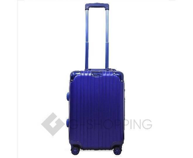 Пластиковый чемодан на колесиках синий PC151 3,9кг, фото 4