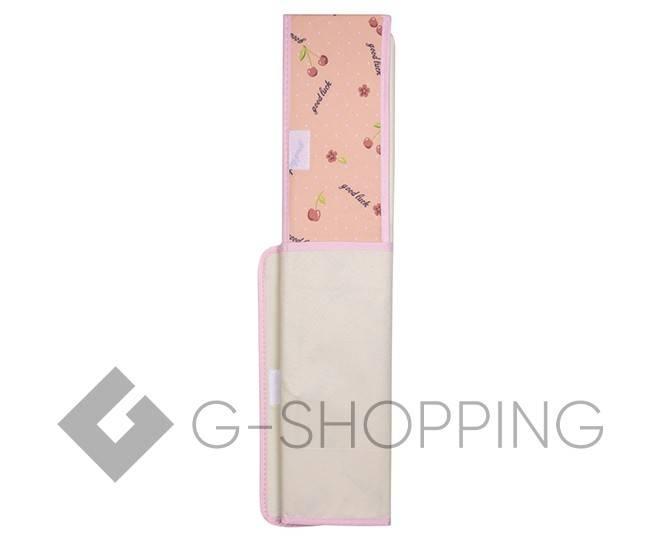 Текстильная коробка для хранения нижнего белья бежевая, фото 4