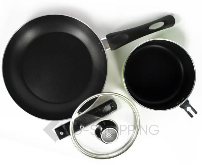 Набор посуды из кастрюли и сковородки JGNG-0008, фото 10