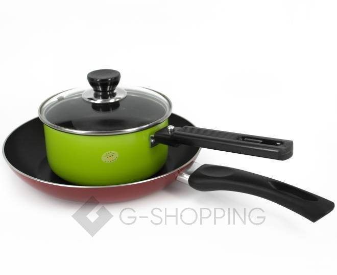Набор посуды из кастрюли и сковородки JGNG-0008, фото 1