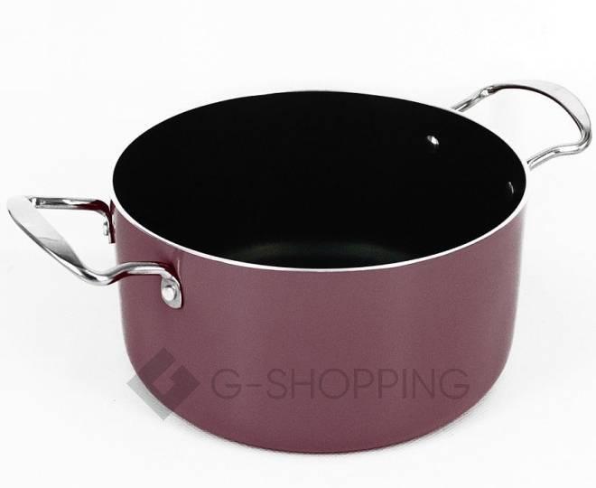 Удобный набор посуды из кастрюли и сковородки GB-JТ003, фото 4