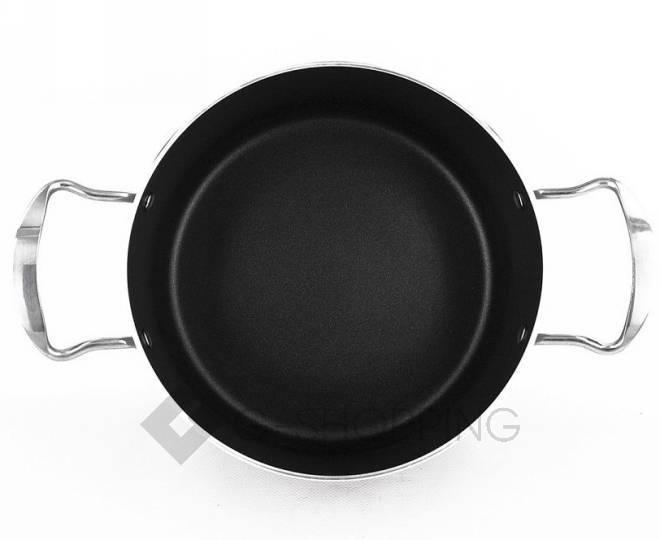 Удобный набор посуды из кастрюли и сковородки GB-JТ003, фото 5