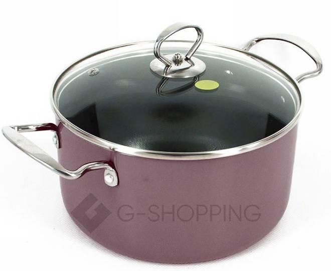 Удобный набор посуды из кастрюли и сковородки GB-JТ003, фото 7