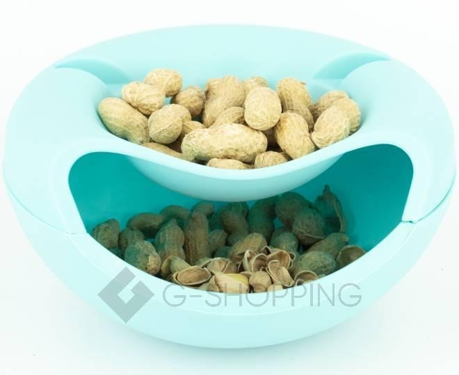 Миска для орехов, семечек или конфет RYP-09 синяя USLANBFAY, фото 3