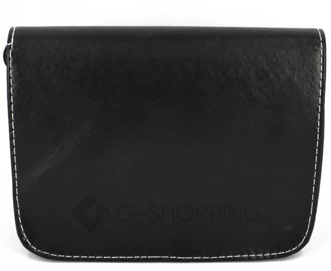Женская черная сумка кросс-боди на молнии c090 Kingth Goldn, фото 6