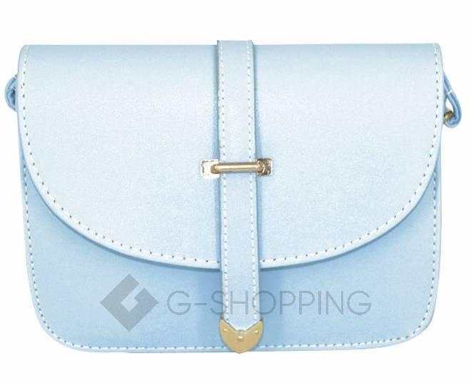 Женская голубая сумка кросс-боди на молнии c092 Kingth Goldn, фото 3