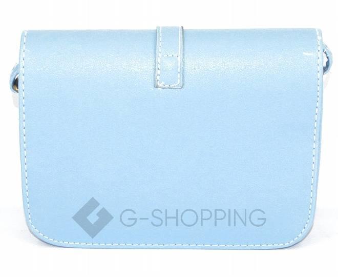 Женская голубая сумка кросс-боди на молнии c092 Kingth Goldn, фото 5