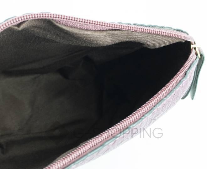 Женская бордовая сумка кросс-боди на молнии C105-29, фото 4