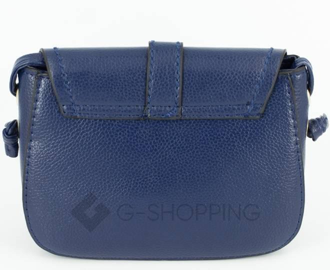 Женская синяя сумка кросс-боди с портфельной застежкой C148-05 Kingth Goldn, фото 8