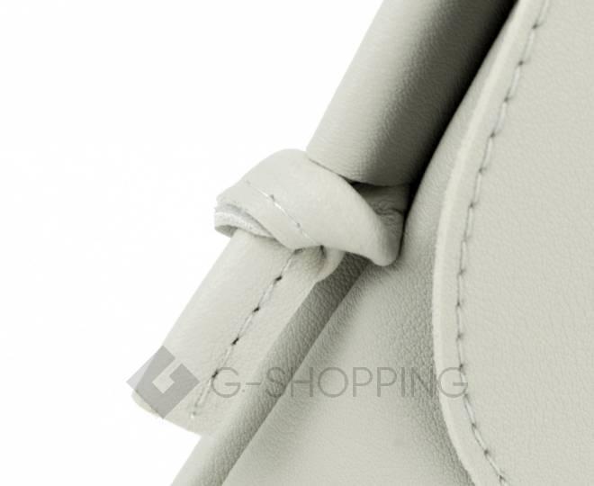 Женская маленькая серая сумка на магнитной кнопке C097, фото 8