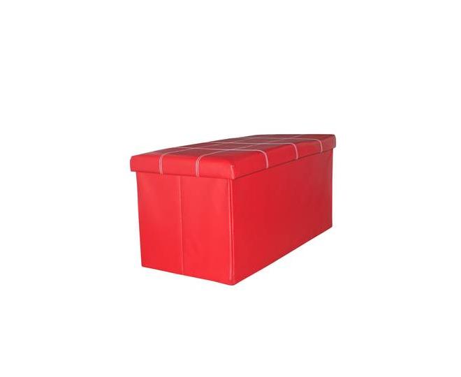 Табурет-ящик красный, фото 3
