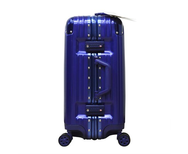 Пластиковый чемодан на колесиках голубой РС151 5,4кг, фото 7