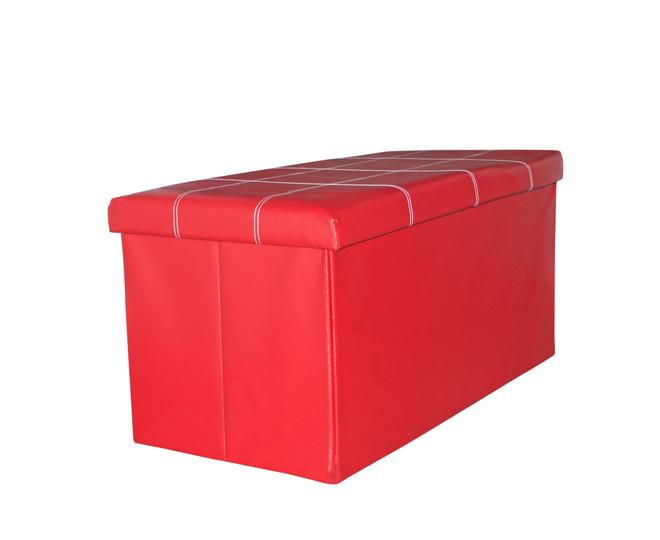 Табурет-ящик красный, фото 8