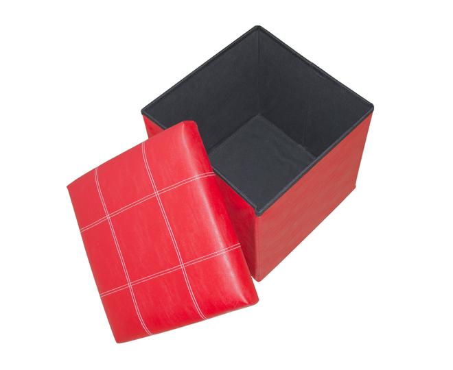 Табурет-ящик красный, фото 7