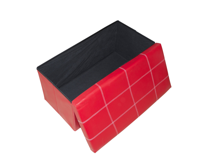 Табурет-ящик красный, фото 2
