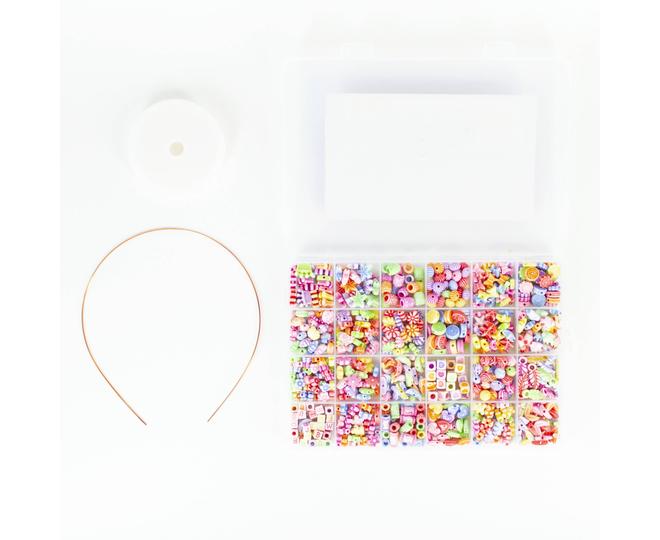 """Детская развивающая игрушка """"Цветные бусы""""  WJ0022 Dolemikki, фото 2"""