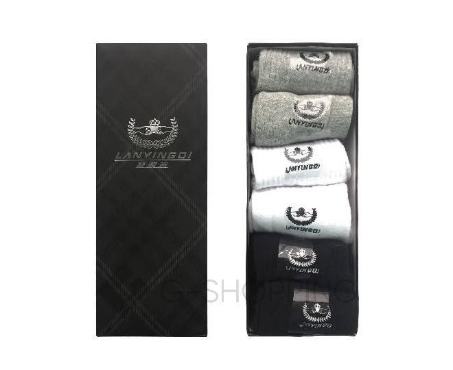 Комплект носков мужских MS01 6 пар к подарочной коробке, фото 1